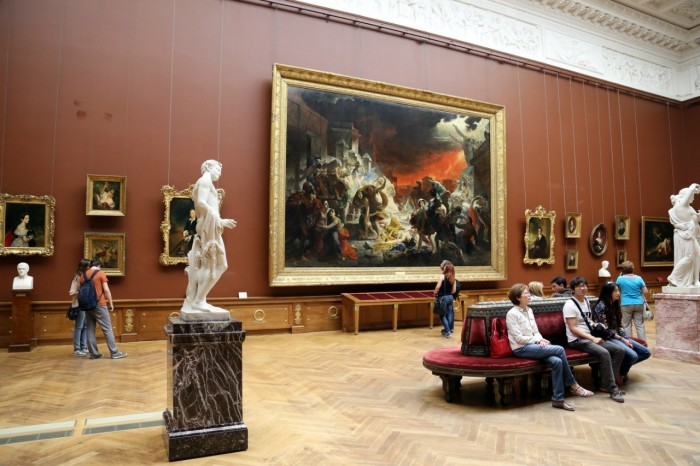 Музеи выставки спб